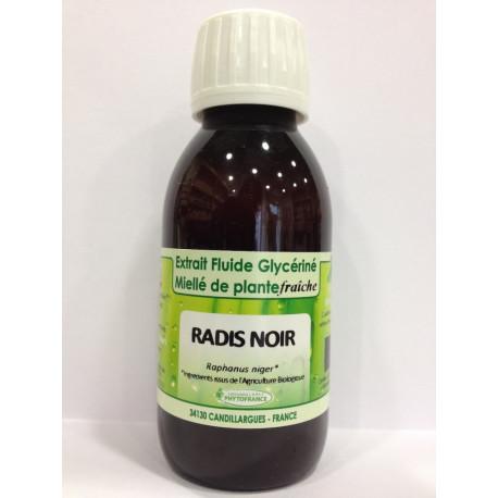 Radis noir - Extrait Fluide Glycériné Miellé de plante Bio - Phytofrance