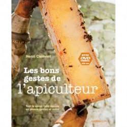 Les bons gestes de l'apiculteur + DVD, éditions Rustica