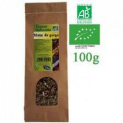 Tisane maux de gorge, angine BIO 100g - Phytofrance
