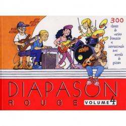 DIAPASON ROUGE-Chant-Guitare