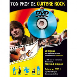 Ton Prof de Guitare Rock DVD