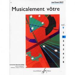 Musicalement Votre-Vol.2,3,4,5 et 6 - Jollet