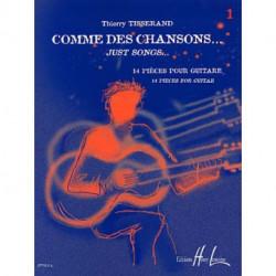 COMME DES CHANSONS TISSERAND