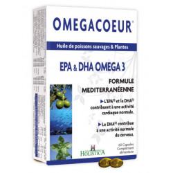 HOLISTICA - Omegacoeur - 60 capsules
