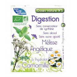 Doses Nature N°5 DIGESTION - 18 doses de 10 ml - Phytofrance