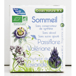 Doses Nature N°4 SOMMEIL - 18 doses de 10 ml - Phytofrance