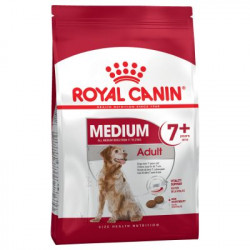 CROQUETTES CHIEN MEDIUM ADULT 7+ ROYAL CANIN