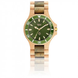 Montre Wewood - Date MB Beige Army Green
