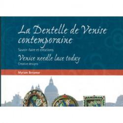 """Livre """"La Dentelle de Venise Contemporaine"""""""