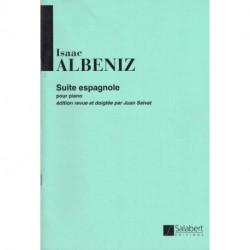 Suite espagnole - ALBENIZ - SALABERT - piano