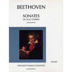 Sonates les plus célèbres - BEETHOVEN