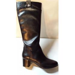 D ERIKAH C noir de GEOX botte pour femme talon de 5.5 cm