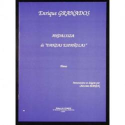DANSE ESPAGNOLE N° 5 - GRANADOS piano