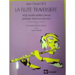 24 petites pièces - DIOT - Flûte et piano