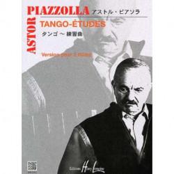 6 Tango-études - PIAZZOLA - MANTEGA - 2 Flûtes